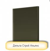 "Монолитный поликарбонат Bauglas бронза ""Premium"" 1000х2050 мм, 2 мм"