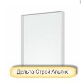 "Монолитный поликарбонат Bauglas прозрачный ""Premium"" 2050х3050 мм, 12 мм"