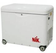 Дизельный генератор NiK DG 3600E 1ф без кожуха
