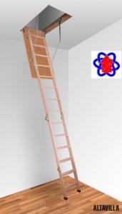 Чердачные лестницы Altavilla Cold 4S (90х70)