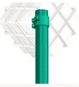 Круглый металлический столб  1,5 м