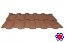 Металлочерепица Egeria 750 Purex кирпичный
