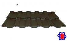 Металлочерепица Egeria 887 Purex Шоколадный