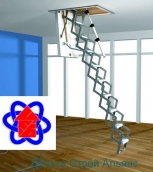 Чердачная лестница ROTO MINI