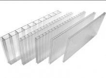 Сотовый поликарбонат 10 мм.прозрачный 2,1*6м