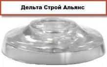 Шайба поликарбонатная крепежная с EPDM уплотнителем для поликарбоната толщиной от 4 мм до 55 мм