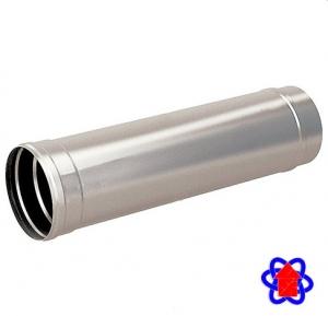 Труба для дымохода из нержавеющей стали Ø110 мм (AISI 304)