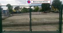 Металлические ворота ЗАГРАДА 1,5*3,0м.