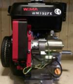 Двигатель WEIMA WM192FE-S (25 мм, шпонка, эл/старт), бензин 18 л.с.