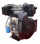 Двигатель WEIMA WM290FE (есть вал КОНУС, ШПОНКА), 2-цил.диз  20,0 л.с. Эл/стартер.