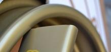 ПВХ поручни для перил Золотой Rehau (Германия)
